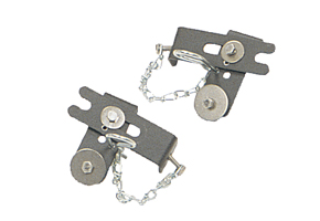 Pair of Hinged Mounting Assemblies