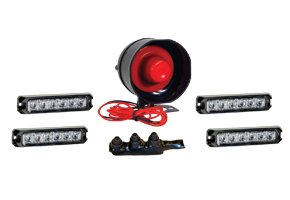 ATV LED & Siren Kit